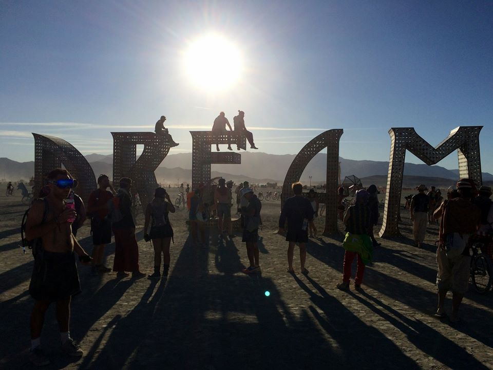 Awesome!(ville) Dream Sculpture Burning Man 2015