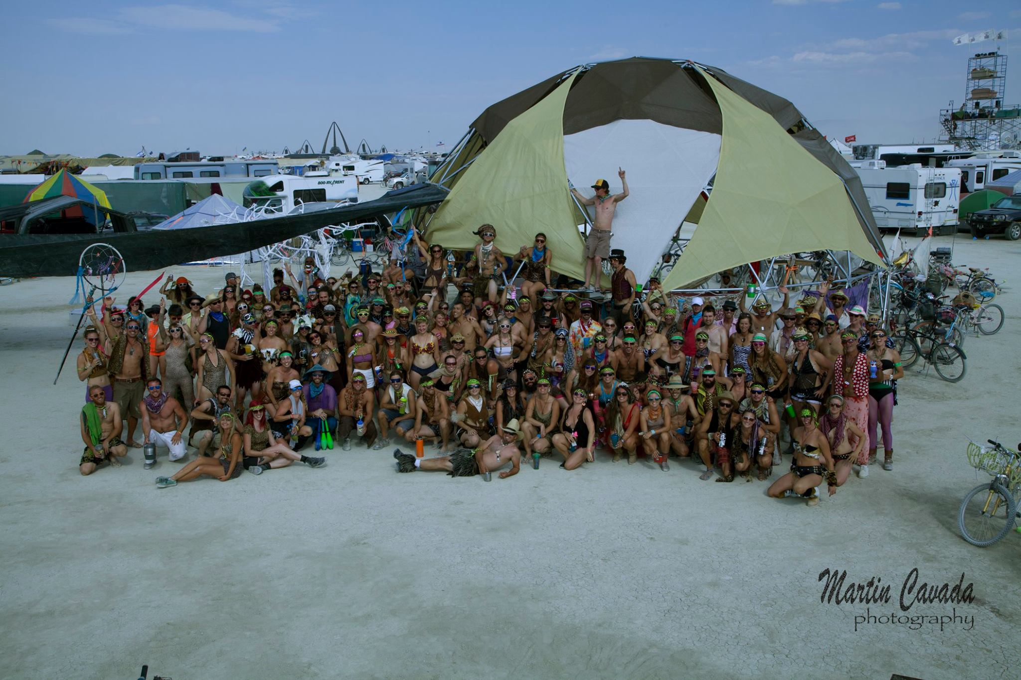 Awesome!(ville) Dome Family Photo 2016
